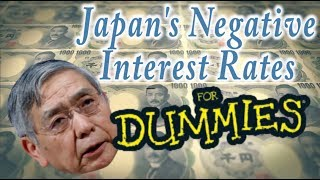 Japan's Negative Interest Rates Explained for Dummies (& keiretsu)