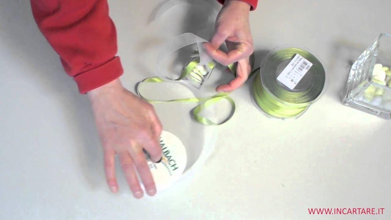 Preferenza Idea per bomboniera: Confezionare una scatola di plexiglass - YouTube EC25