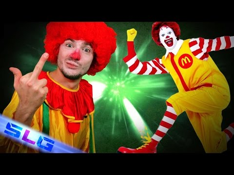 ronald le clown immoral - slg n°88 - mathieu sommet