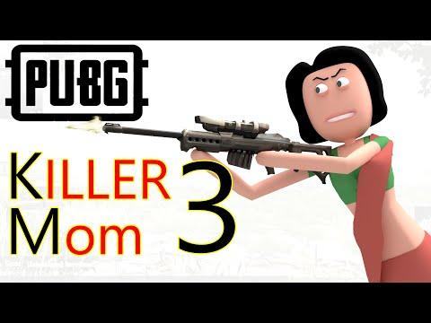 PUBG - Killer Mom Part 3 | पब जी किलर माँ 3 | Pubg Comedy | Goofy Works | Comedy Toons
