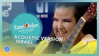 Netta from Israel performs acoustic version of 'TOY'