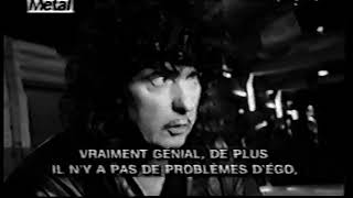 Ritchie Blackmore - French Interview 1995