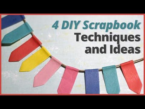 DIY Scrapbook Ideas -  DIY Scrapbook Techniques