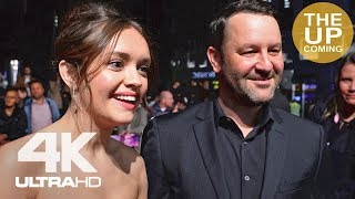 Olivia Cooke and Dan Fogelman on Life Itself at London Film Festival premiere
