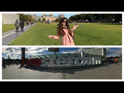 Vlog: Am ajuns in Olanda! Plimbare prin Amsterdam/Mâncare buna și cumpărături