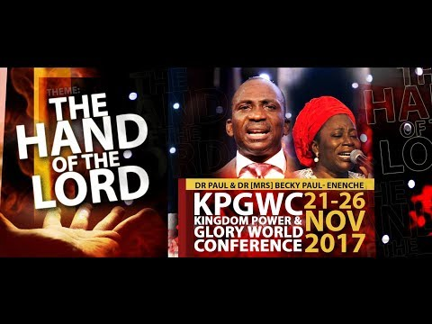 THE HAND OF THE LORD & THE VOICE OF THE LORD#KPGWC2017 DAY 3 MORNING SESSION-23-11-2017