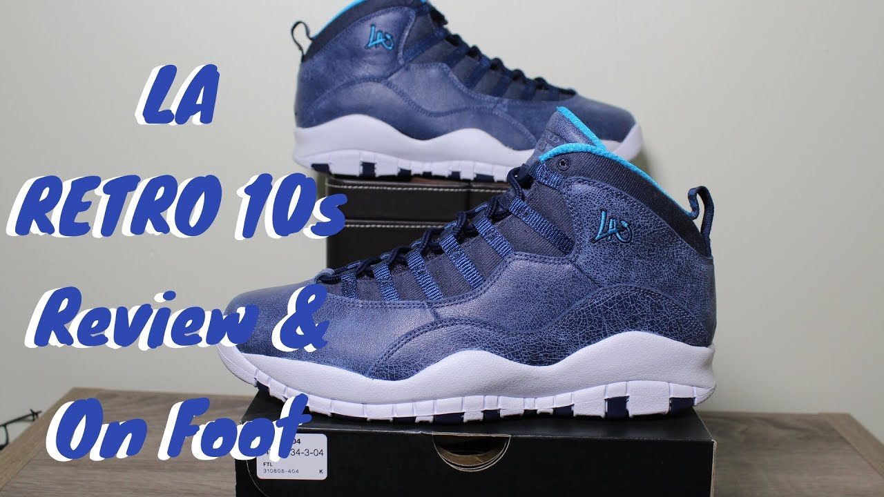 04677623a4f48d ... shopping air jordan la 10s review on foot city pack youtube 53bf7 5ca0e