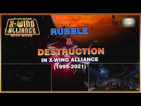 X-Wing Alliance - Rubble and Destruction in 2021 |