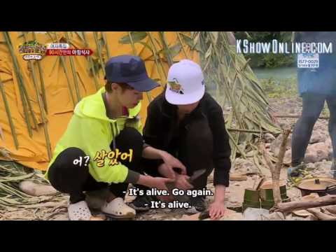 Girl's Day Sojin Funny Law of the Jungle Moment