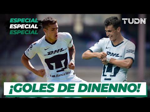 ¡El nuevo 'killer' de Pumas! Todos los goles de Dinenno con Pumas | TUDN