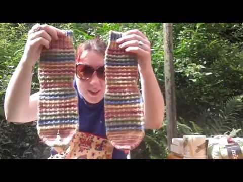 Eva Christie Hand Knitting - Episode 15:  I like big cuffs I cannot lie