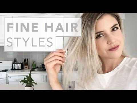 HAIR HACKS | for fine and thin hair