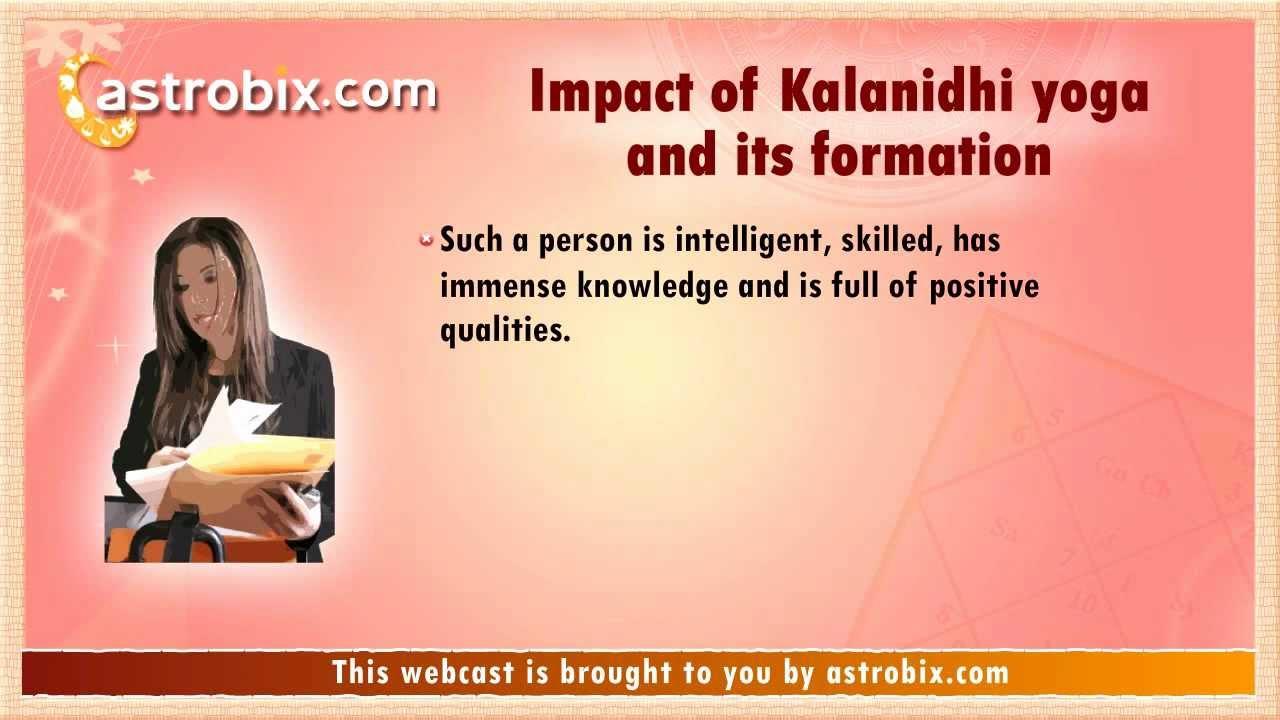 Kalanidhi Yoga In Vedic Astrology