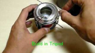 Home-made Pepsi-can Chimney Alcohol Stove