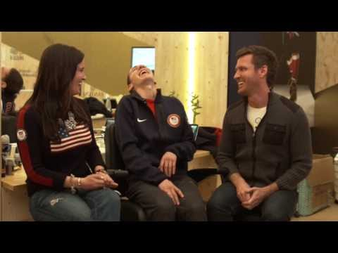 Sochi 2014 Video 30: Jason Brown Surprised by Jennifer Lopez
