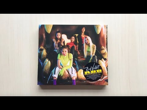♡Unboxing Red Velvet 레드벨벳 5th Mini Album RBB (Really Bad Boy)♡