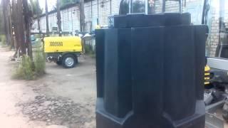 Дренажный колодец Термит. H=1540мм. D=800мм.(, 2015-06-26T17:30:26.000Z)