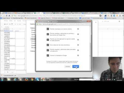 Google Drive, Doctopus y Goobric: Trabajo colaborativo y evaluación mediante rúbricas en clase. (I)