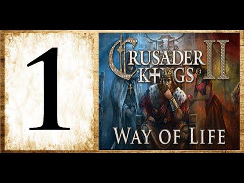 Crusader kings 2, Way of life - Vujo the viking #1 - Let's start some wars |