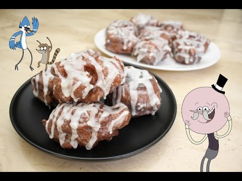 Elise's Eats - Ep 63: Double Glazed Apple Fritters (The Regular Show Special) thumbnail