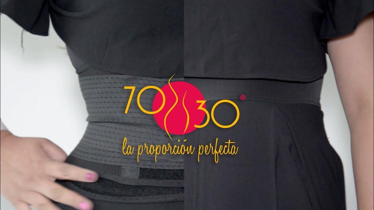 25d6892b2 Cinturilla 70 30 es para todas las mujeres - YouTube
