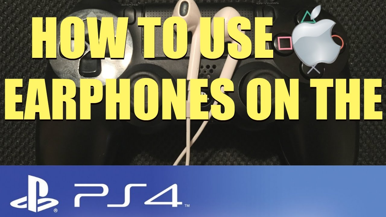 How to use Apple Earphones on the PS4 (Everything Mobile)