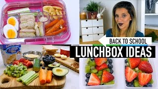 BACK TO SCHOOL LUNCHBOX IDEAS | COLLAB WITH RACHELLEEA