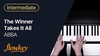 The Winner Takes It All – ABBA (Piano Tutorial)