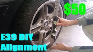 homepage tile video photo for E39 BMW DIY Alignment