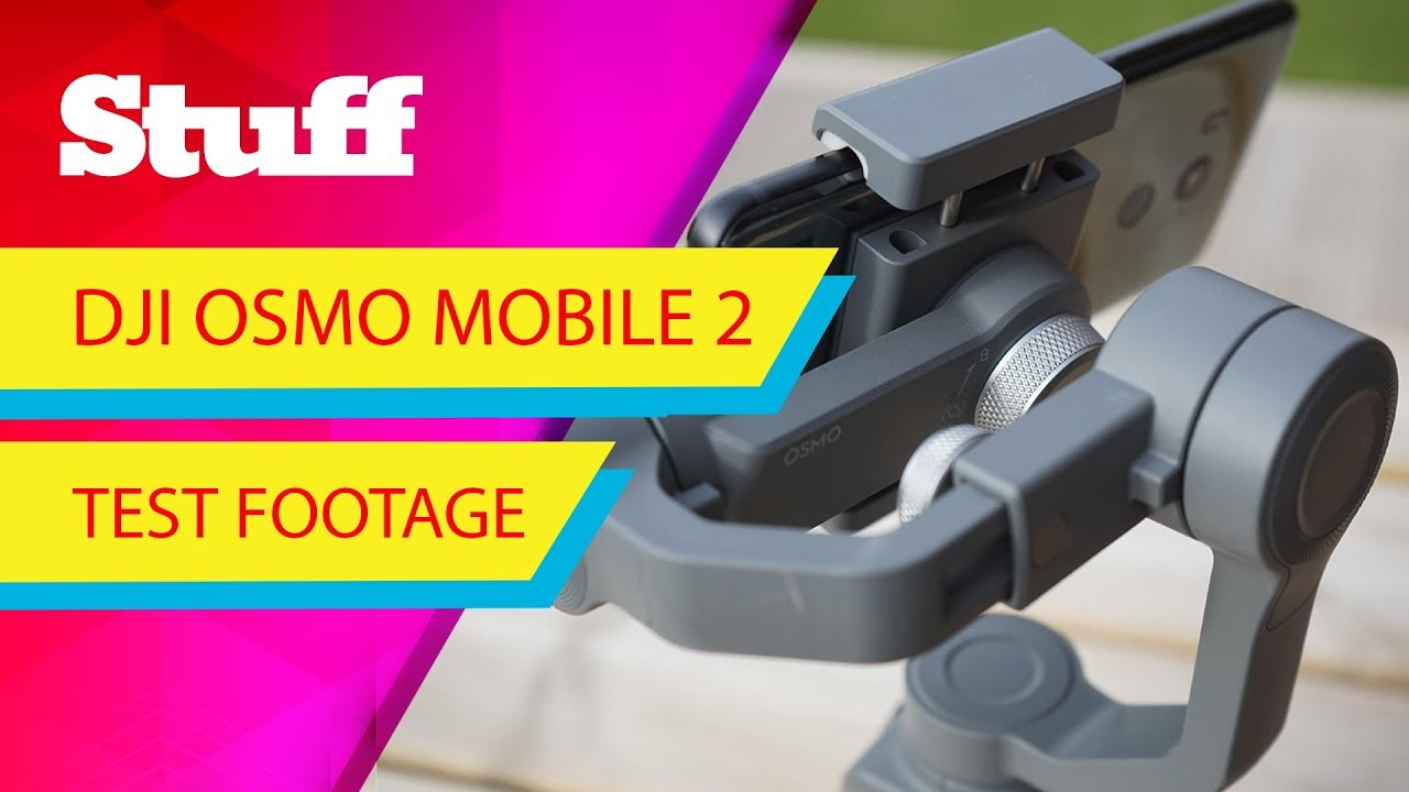 DJI Osmo Mobile 2 sample footage