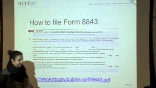 How to File Form 8843