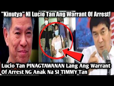 Part 6   Lucio Tan PINAGTAWANAN Lang Ang Warrant Of Arrest   Anak Ni LUCIO TAN IPINATULFO! -  (2020)