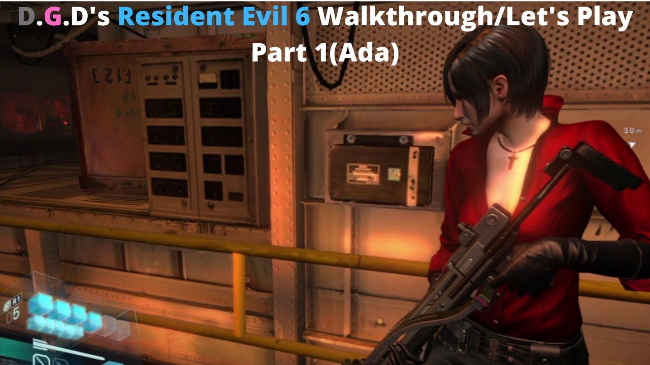 Resident Evil 6 - Gameplay Mini Walkthrough - Part 3
