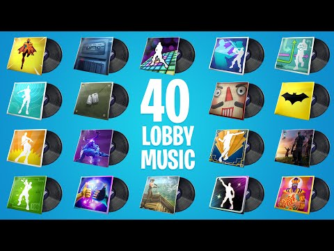 FORTNITE All Lobby Music (All 40 Lobby Music)