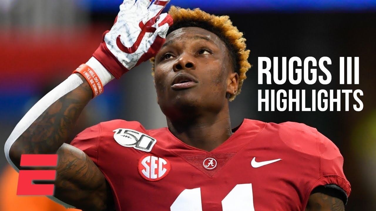 NFL Draft 2020: Raiders WR Henry Ruggs' speed isn't only reason ...