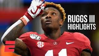 Henry Ruggs III's college football highlights | Alabama WR | 2020 NFL Draft