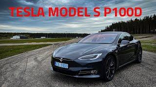 Tesla Model S P100D. Семейный спорткар.