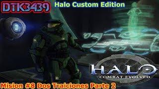 """Halo Ce [HaloCustom Edition Estilo Halo Reach]_[ESPAÑOL] Misión 8: """"Dos Traiciones"""" parte 2"""