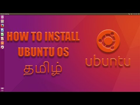 How To Install UBUNTU OS | TAMIL | Easy & Safe Way To Install LINUX