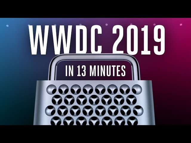 Everything from Apples WWDC2019 In Telugu