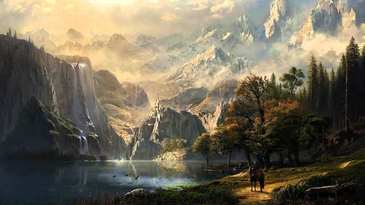 Fantasy war landscape - photo#16