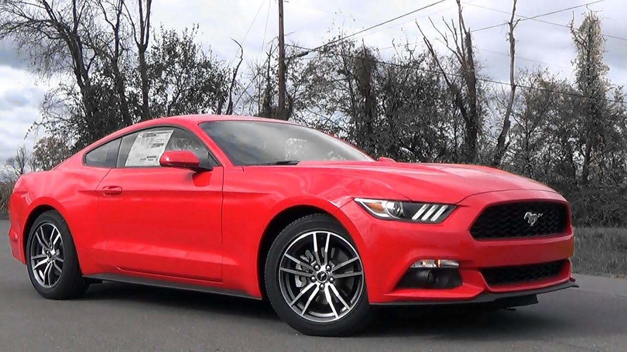 2017 Ford Mustang Ecoboost Review Youtube