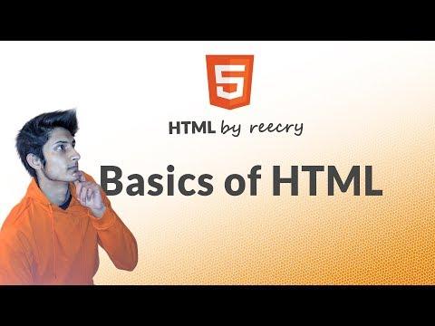 Basics Of HTML For Absolute Beginner's