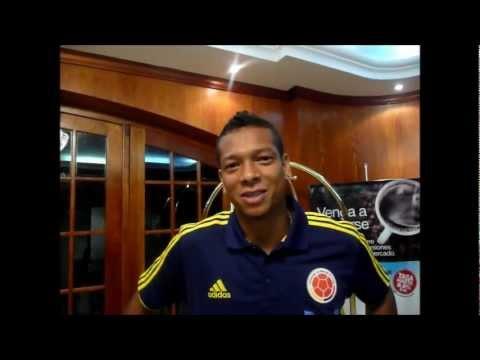 Saludo Fredy Guarín AFCE @futbolcolex 2012