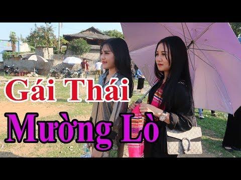 Gặp gái Thái cực xinh tại lễ hội // Gái Thái Mường Lò Nghĩa Lộ
