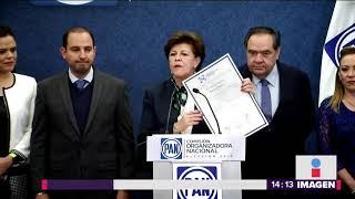 Entrega PAN constancia de mayoría a Marko Cortés | Noticias con Yuriria Sierra