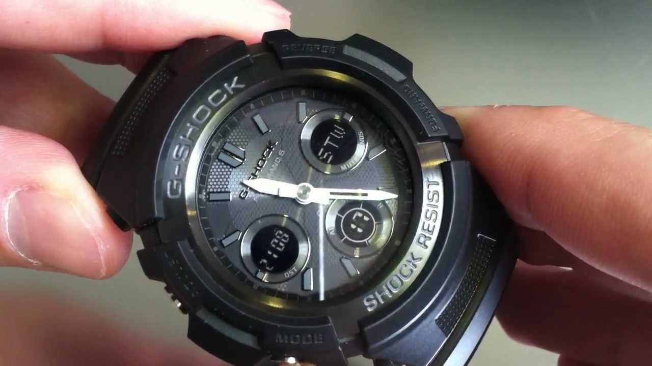 how to set s shock watch