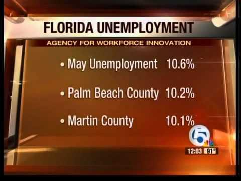 Florida unemployment drops to 10.6