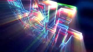 Neon Show intro AE