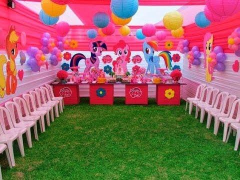 Fiesta de my little pony 2017 ponny ideas party de ni a - Ideas decoracion cumpleanos nina ...